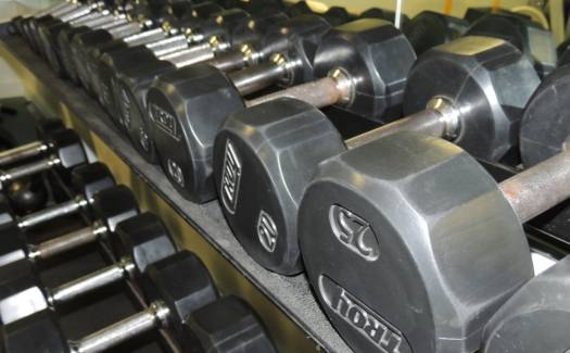 Fitness Room free weights